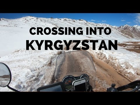 [Eps. 79] CROSSING INT KYRGYZSTAN - Royal Enfield Himalayan BS4