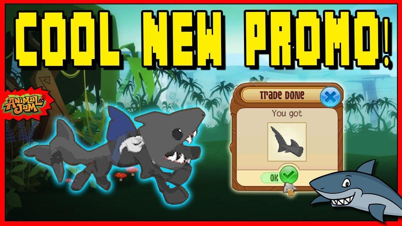 do you like the new animal jam promo item shark tales