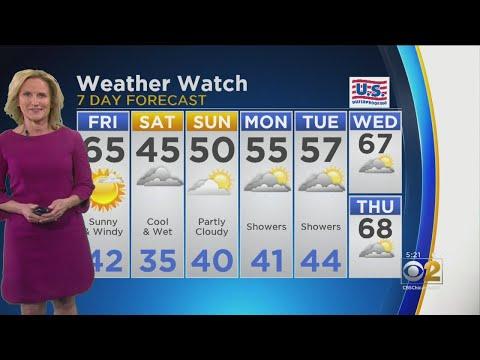 CBS 2 Weather Watch (5 PM, April 25, 2019)