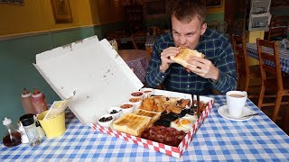 Huge 4000 Calorie Breakfast Challenge