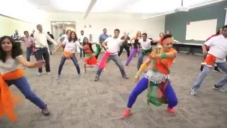 Malhari Fitness Dance - Bajirao Mastani - Fitness Party RTP NC USA