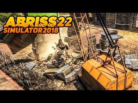 ABRISS SIMULATOR 2018 #22: Großer KRAN Mit Abrissbirne! | Demolish And Build 2018 Beta Deutsch