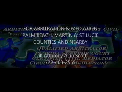 Arbitration Mediation Palm Beach Martin & St Lucie County Florida
