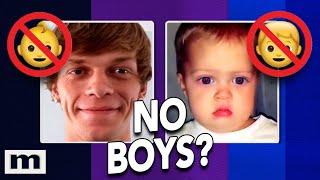 BOYS DON'T RUN IN MY FAMILY!