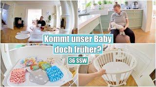 Geburt geht früher los?! 😳 Stoffwindeln für Anfänger & Stubenbett | Isabeau