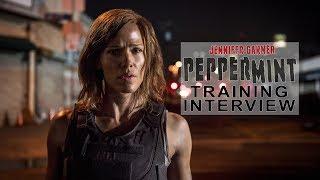 'Peppermint' Jennifer Garner Training Interview