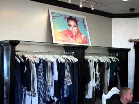 Tour Of The Inside Of Dash The Kardashian's Store In Calabasas
