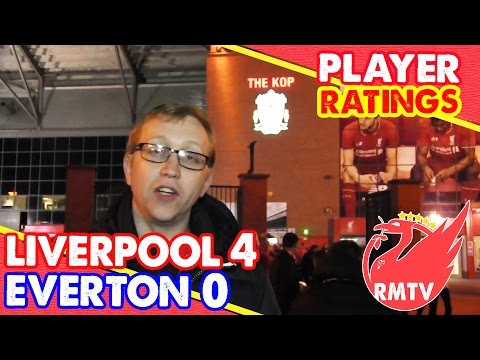 Liverpool 4-0 Everton | Player Ratings