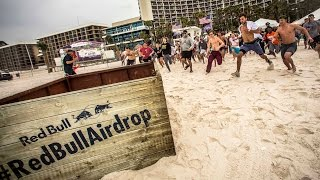 Red Bull: Helicopter Delivers Surprise Crate to Spring Breakers – Red Bull Air Drop
