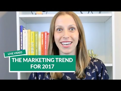 Live Video: The Marketing Trend For 2017