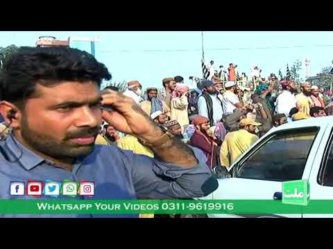 azadi-march/maulana-fazal-rehman-restart-azadi-march-from-gujjar-khan-toward-islamabad
