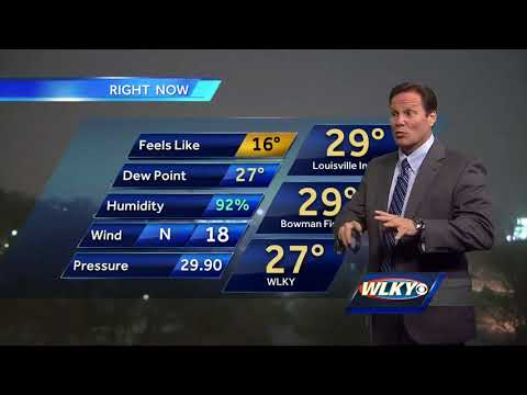 Winter Storm Warning in WLKY viewing area