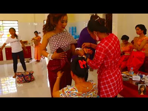 Bride Make Up And Dress Up Compilation In Cambodia - Traditional Wedding In Asian Countries