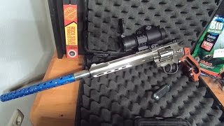 13 joule most powerful airsoft in the world 1000 fps 0 28g ruger superhawk 8 extreme tuned 8 0