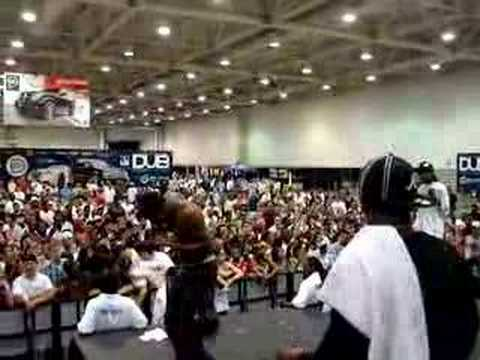 Hurricane Chris with Lil Scrappy Performing A BAY BAY!!
