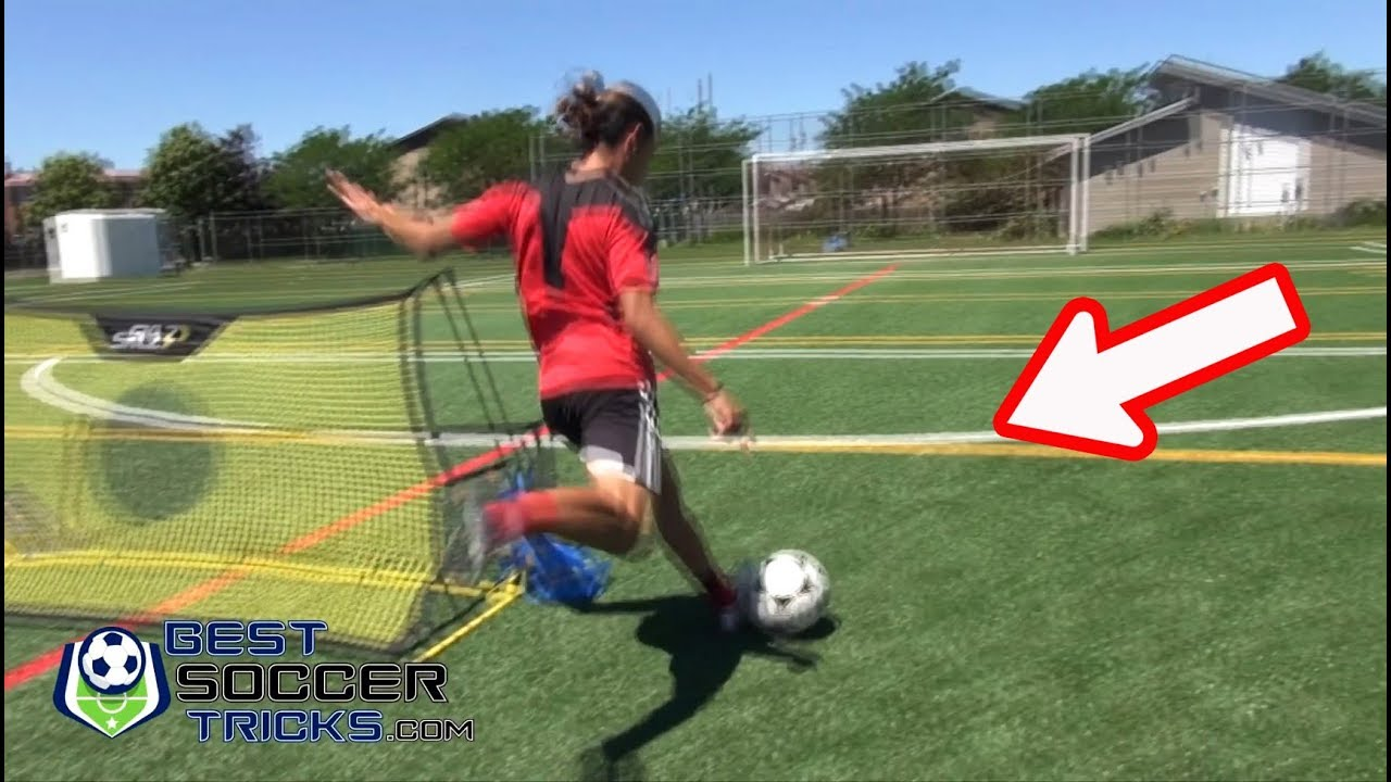 ea3fdf2fa Best Solo Exercise for Finishing (with Soccer Rebounder) - YouTube