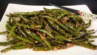 Szechuan Green Beans - Indo Chinese Recipe