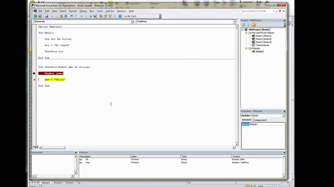 excel vba pass range to function object required from
