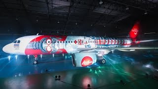 "Video Winning ""Paint the Sky"" Livery on Thai AirAsia Plane download MP3, 3GP, MP4, WEBM, AVI, FLV Agustus 2018"