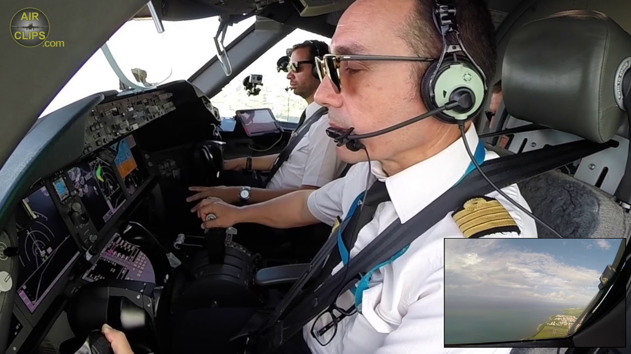 Cool like a Cucumber! Captain Laurent lifting off his B787 from La Reunion! [AirClips]