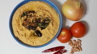 Tomato Onion Peanut Chutney - Telugu Taste Buds