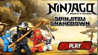 Ninjago Games - Spinjitzu Snakedown