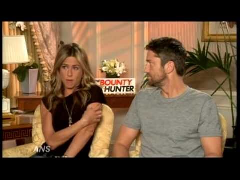 GERARD BUTLER & JENNIFER ANISTON ADMIT CHEMISTRY FOR BOUNTY HUNTER