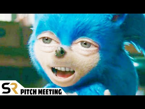 Sonic The Hedgehog Pitch Meeting