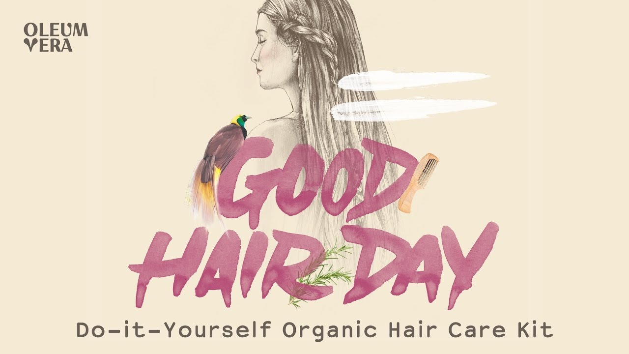 Do it yourself organic hair care kit youtube do it yourself organic hair care kit solutioingenieria Gallery