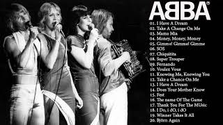 ABBA GOLD GREATEST HITS -  ABBA TOP HITS COLLECTION 2018