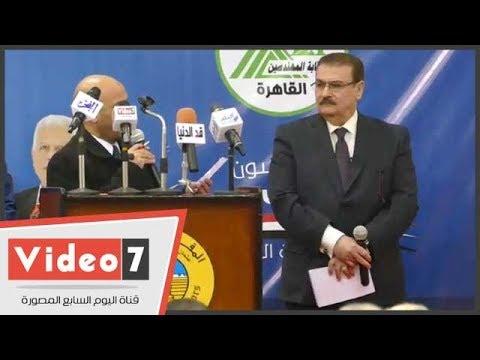مهندس يدعم قائمة هانى ضاحى فى انتخابات النقابة -بقصيدة مدح-  - 16:21-2018 / 2 / 17
