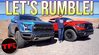 Ford Raptor vs. Ram TRX: Does Ram's Supertruck DEVOUR The Competition or Is It Too Little Too Late?