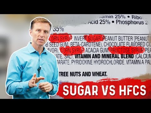 Table Sugar vs High Fructose Corn Syrup (HFCS)