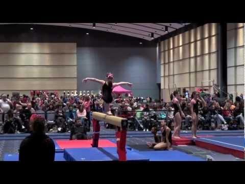 pink gymnastics meet philadelphia