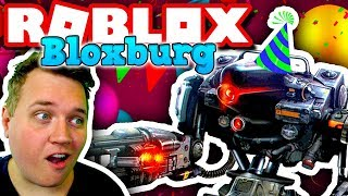 PARTY WITH A ROBOT! 🎉:: Bloxburg-Ep. 1:: Vercinger in Roblox english