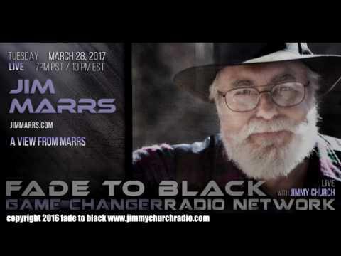 Ep. 632 FADE to BLACK Jimmy Church w/ Jim Marrs : The Illuminati : LIVE