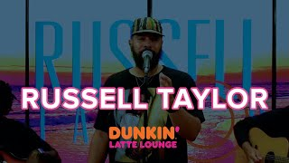Russell Taylor Performs At Dunkin Latte Lounge