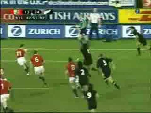 All Blacks vs British & Irish Lions 2nd Test 2005