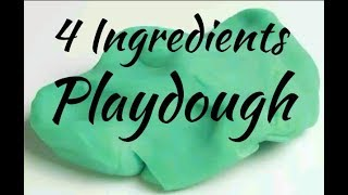 DIY Play dough Slime|No Glue|No Cream of Tartar|No Contact Lens Solution|No Cook|