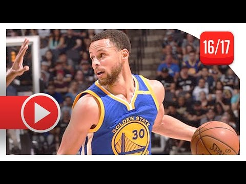 Stephen Curry Full Highlights vs Spurs (2017.03.29) - 29 Pts, 11 Ast, COMEBACK!