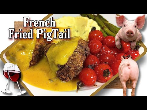 Yes That's Right! French Fried Pigtail For Dinner! | #yummy #tasty | Tiki Cooks Tv