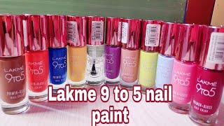 Lakme 9to5 nail paint full review be stylish