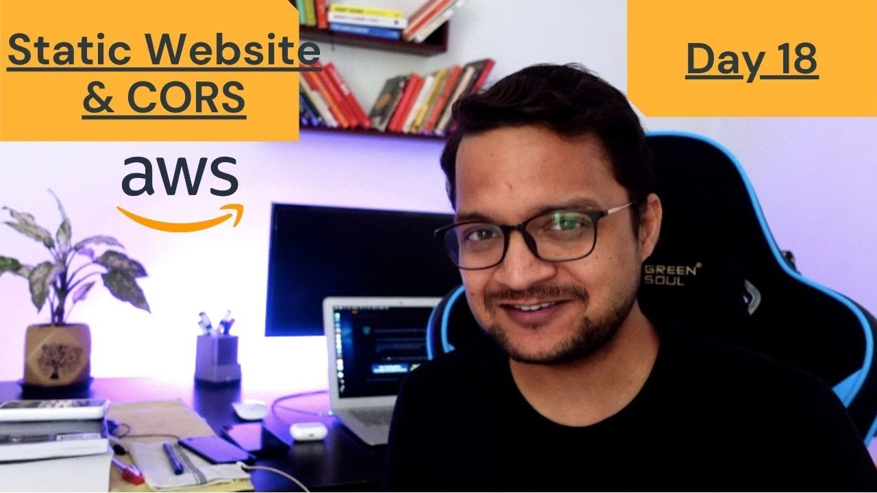 DAY 18 - 100 Days Of AWS   Static Website Hosting and CORS
