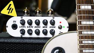 Ламповый гитарный предусилитель своими руками. Полное видео руководство.