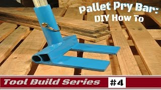 How To: Pallet Pry Bar for removing pallet boards for DIY projects
