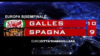 GALLES - SPAGNA 10 - 9 d.c.r. [Europa B - Semifinale]