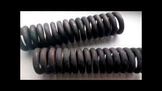 видео изготовление тарельчатых пружин