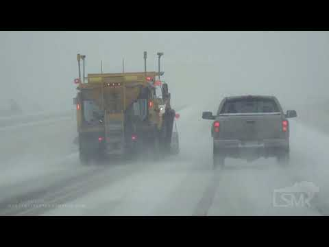 11-10-2019 Rapid City, SD - Vehicle Recovery Heavy Snow