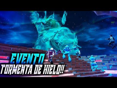 VICTORIA EN EL EVENTO DE LA 'TORMENTA DE HIELO' - FORTNITE - Rubinho vlc
