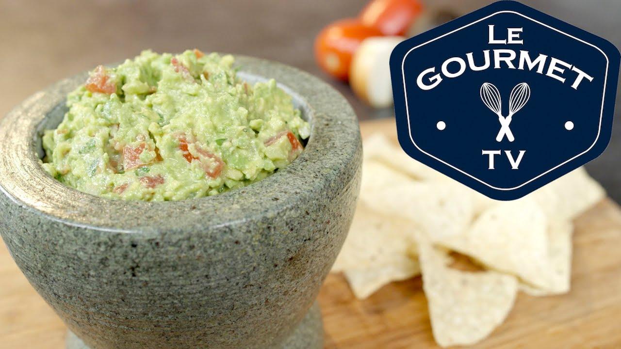 Guacamole with pico de gallo le gourmet tv recipes youtube guacamole with pico de gallo le gourmet tv recipes forumfinder Images